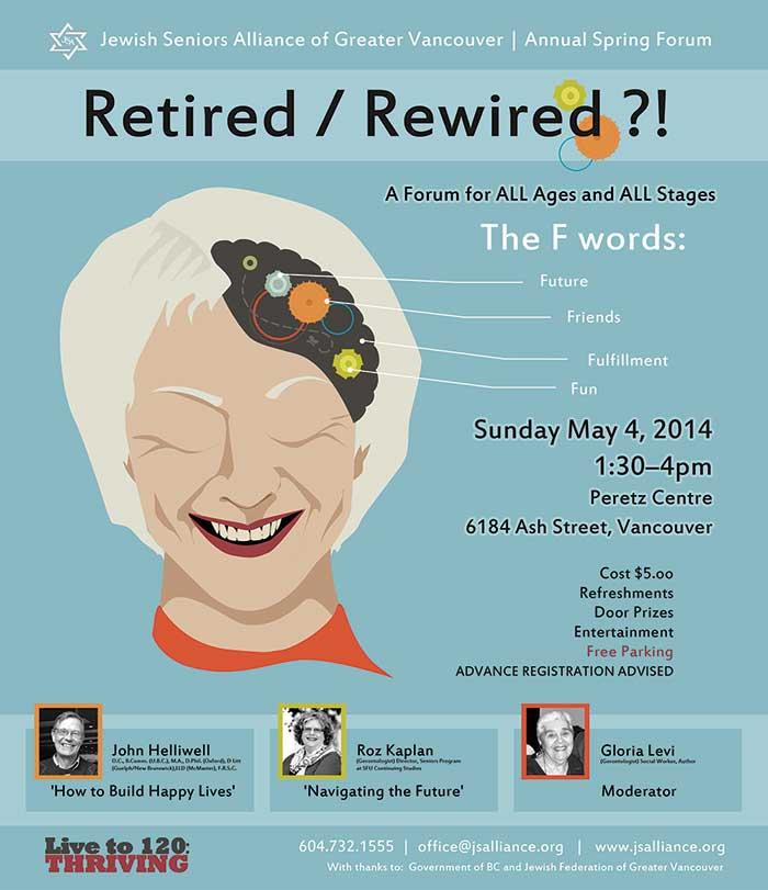 2014 - Retired Re-Wired - Jewish Seniors Alliance