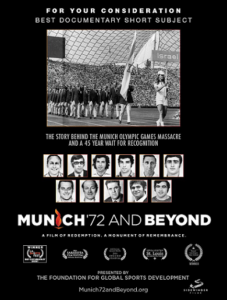 Monday Movies At The J: Munich '72 & Beyond @ Jewish Community Centre | Vancouver | British Columbia | Canada