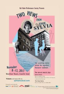 Two one-act Musical Plays: Two Views from The Sylvia @ Waterfront Theatre, Granville Island