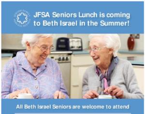 JFSA: Seniors Lunch @ Beth Israel @ JFSA at Beth Israel | Vancouver | British Columbia | Canada