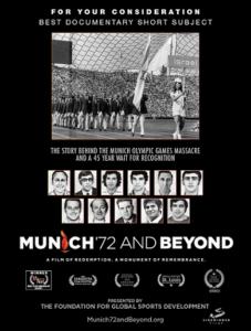 Monday Movies At The J: Munich '72 & Beyond @ Jewish Community Centre | Vancouver | British Columbia | Canada