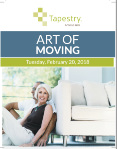 ART OF MOVING: Downsizing Strategies @ Tapestry at Arbutus Walk | Vancouver | British Columbia | Canada